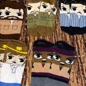 Accessories - The Walking Dead Anklet Socks